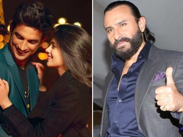 Details about Saif Ali Khan's special appearance in Dil Bechara