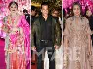 Salman Khan, Sonakshi Sinha, Rekha at the Morani wedding reception