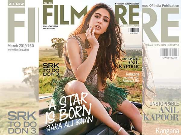 Taking a look at Sara Ali Khan's first ever magazine cover