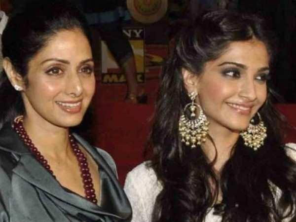 Sonam Kapoor recalls her favourite memory of late Sridevi