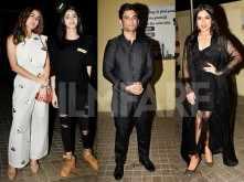 Sara Ali Khan watches Sushant Singh Rajput's Sonchiriya with Ananya Panday