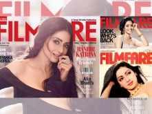 In memory: Sridevi's best Filmfare covers