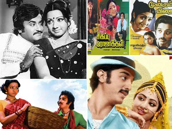 Sridevi's top films down South