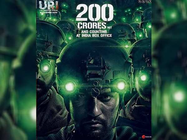 Vicky Kaushal's Uri crosses the Rs 200 crore mark at the box-office