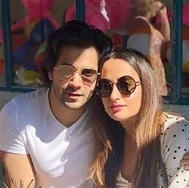 Varun Dhawan, Natasha Dalal, Filmfare