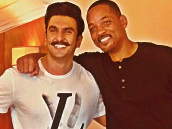 """I am loving what you're doing with Gully Boy""– Will Smith to Ranveer Singh"