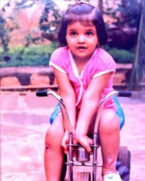 Deepika's childhood pictures