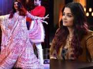 Aishwarya Rai Bachchan on letting her hair down at the Ambani wedding
