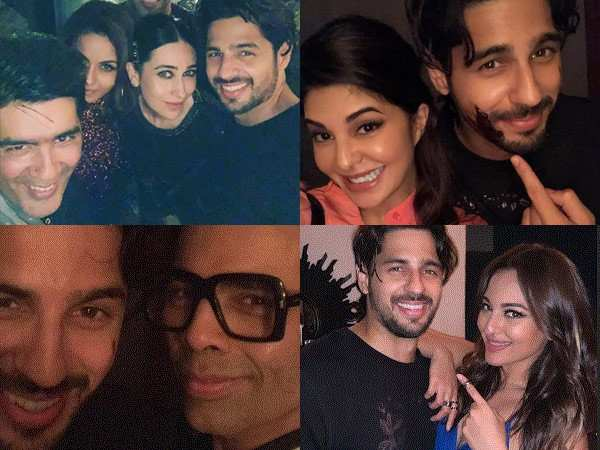 Check out all the inside pictures from Sidharth Malhotra's 34th birthday bash