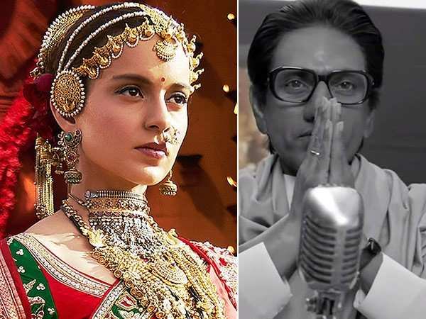 Here's how Manikarnika and Thackeray have fared at the box-office so far