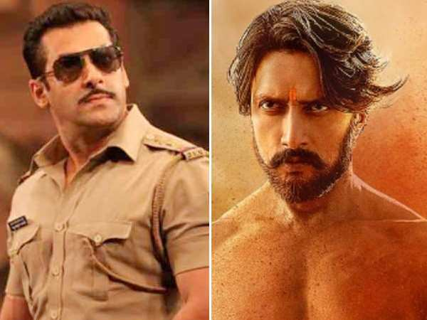 Kannada actor Sudeep to play a baddie in Salman Khan's Dabangg 3