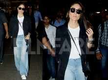 Kareena Kapoor Khan is back in Mumbai after attending an event in Chennai
