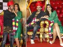 Photos: The cast of Luka Chuppi looked all excited at the trailer launch