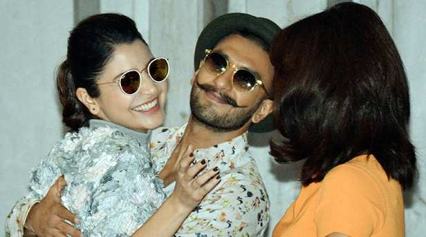 Ranveer Singh reveals his reaction on seeing Anushka Sharma at his reception