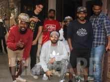 Ranveer Singh keeps it cool as he gets snapped at a dubbing studio