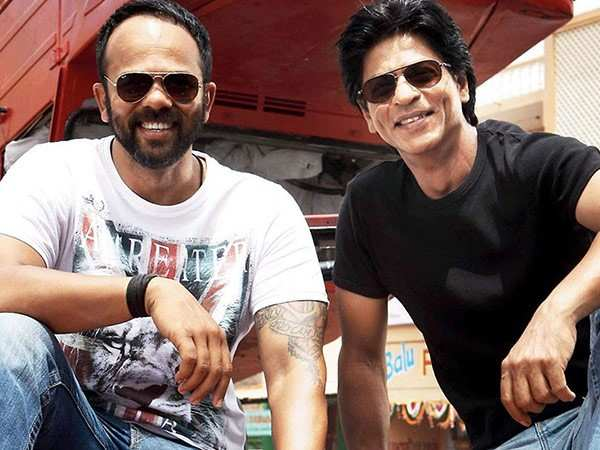 Rohit Shetty reacts to reports of a tiff with Shah Rukh Khan