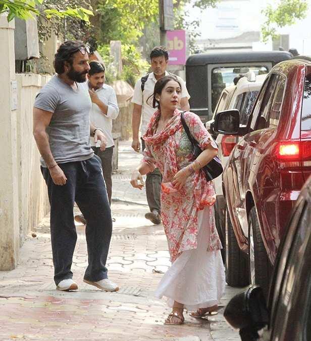 Saif Ali Khan, Sara Ali Khan