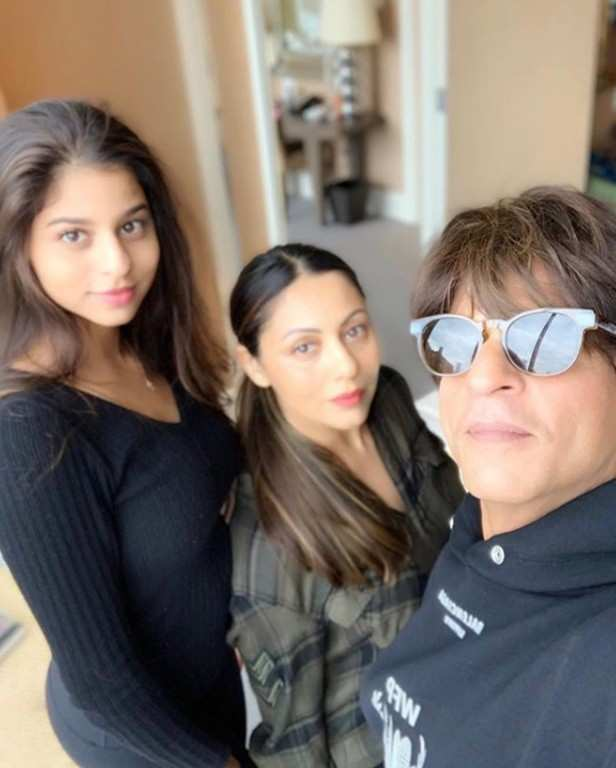"""The Badshah of Bollywood, Shah Rukh Khan still has a hold over the industry even after so many years. There are millions of people who crave to just get a glimpse of him and love him unconditionally. Shah Rukh's kids have grown up being a part of his limelight and have decided to choose showbiz as their career option. His daughter Suhana Khan wants to become an actress, while son Aryan Khan wants to become a director in the future. Talking about Suhana joining Bollywood and being seen on the sets of Zero, Shah Rukh shared a few details in an exclusive interview with Filmfare.   He said, """" Yes, Suhana wants to act but needs to train for 3-4 years before that. She's doing theatre in London now. Hopefully, she'll shift to America. She came here as a part of learning acting. So she needed to spend time on film sets. She did some of that in London too with Gurinder (Chadha). We were shooting a song for Zero. I wanted her to watch Katrina (Kaif) and Anushka (Sharma) because both of them are such different kind of actors. Katrina has her own charm and Anushka has her own way of enacting.  But what they did instead is put her onto me as the assistant director to get me on time from home. She'd say,' Papa, the shot is ready'. She needs to finish her education first. Education formalises and makes your craft better. She wants to do stage, street theatre…There are plenty of opportunities around the world. In India, I guess we don't learn acting. We just assume hum mein talent hain."""""""