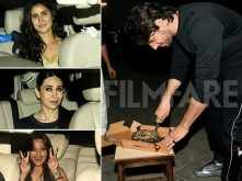 Katrina Kaif, Sonakshi Sinha attend Sidharth Malhotra's birthday bash
