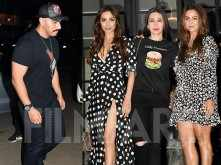 Arjun Kapoor and Malaika Arora enjoy a dinner date with friends and family