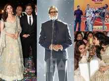 All pictures! Ranbir Kapoor, Alia Bhatt, Shah Rukh Khan at Umang 2019
