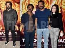 Nawazuddin Siddique and Amrita Rao host a special screening of Thackeray
