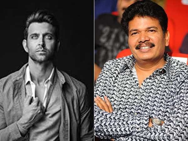 Hrithik Roshan and Shankar to collaborate for a sci-fi thriller?