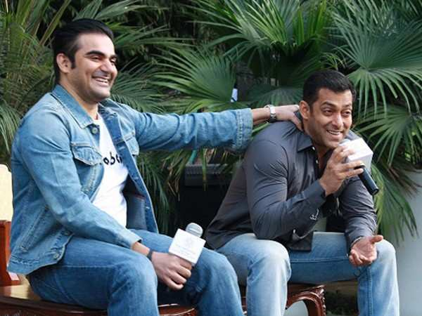 Hilarious! Arbaaz Khan reveals why Salman Khan doesn't kiss on screen