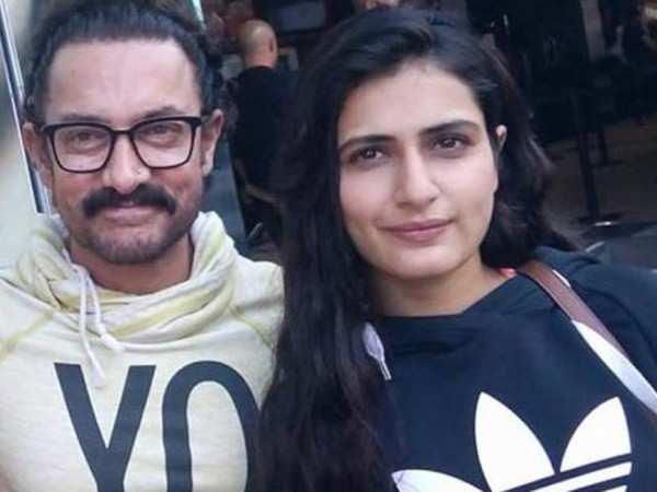 """Aamir doesn't know how to use social media."" – Fatima Sana Shaikh"