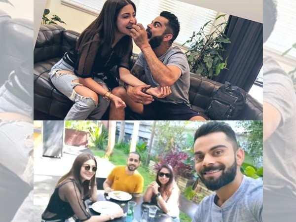 Virat Kohli and Anushka Sharma enjoy some romantic time in Australia