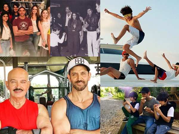 Pictures that prove Hrithik Roshan is the perfect family man