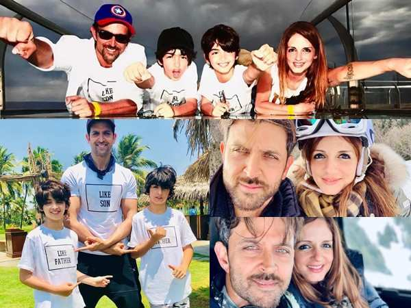Sussanne Khan wishes her BFF and soulmate Hrithik Roshan on his birthday