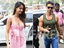 Tiger Shroff and Disha Patani step out together for Sunday brunch