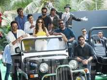 Photos :The cast of Total Dhamaal indulge in some fun at the trailer launch
