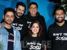 Vicky Kaushal lights up the success bash of Uri