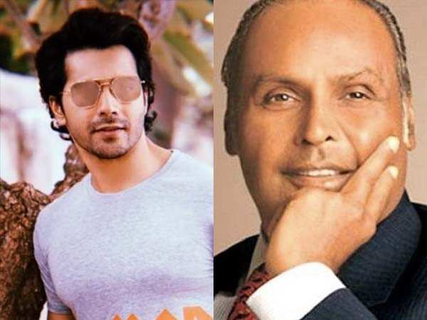Varun Dhawan all set to play young Dhirubhai Ambani in Salman Khan's Bharat