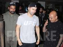 Varun Dhawan looks dapper as he flaunts his new look for ABCD 3
