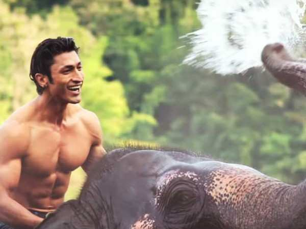 """I'm hopeful that Junglee will be ""the"" film for me."" – Vidyut Jammwal"