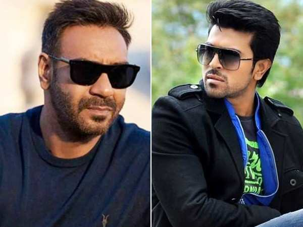 Ajay Devgn to play Ram Charan's father in SS Rajamouli's RRR?