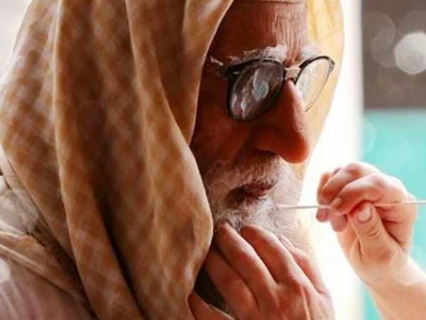 Amitabh Bachchan on using prosthetics for a month in Gulabo Sitabo