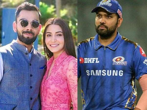 Rohit Sharma unfollows Virat Kohli, Anushka Sharma on Instagram; rift rumour spreads