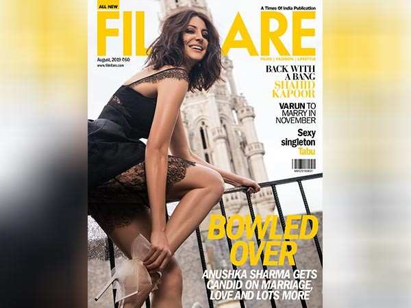 Anushka Sharma goes sexy and spunky for the latest cover of Filmfare