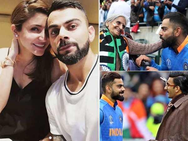 Bollywood stars react to Virat Kohli's pictures with Charulata Patel