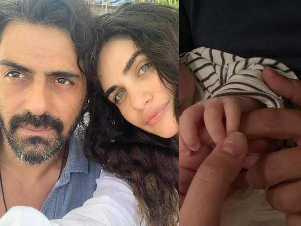 Arjun Rampal and Gabriella Demetriades announce their baby boy's name in a cute post
