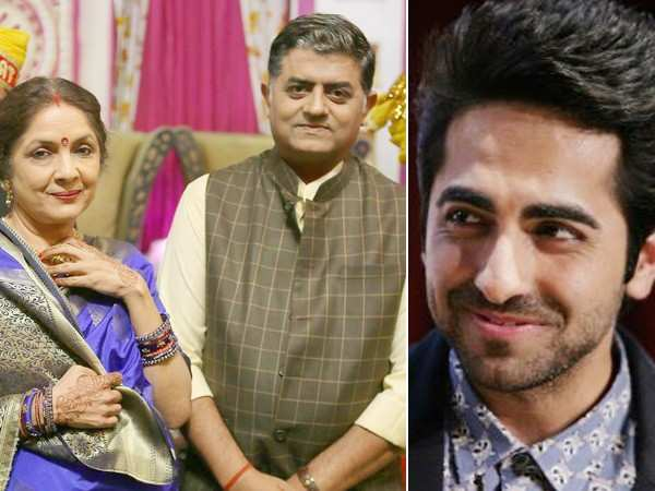 Neena Gupta and Gajraj Rao to work with Ayushmann Khurrana again