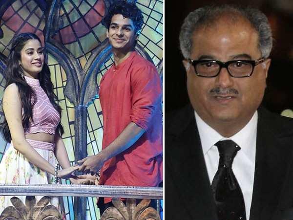 Boney Kapoor talks about Ishaan Khatter and Janhvi Kapoor's bond