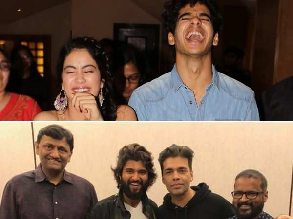 Janhvi Kapoor and Ishaan Khatter to star in the remake of Dear Comrade?