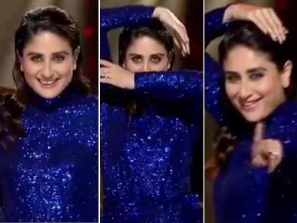 Video: Kareena Kapoor Khan dances to Raat Ka Nasha and burns the stage