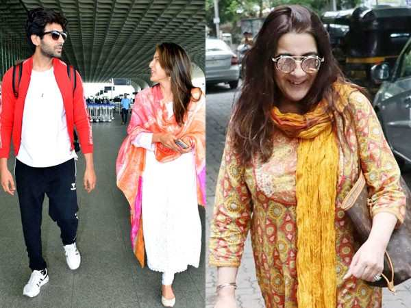Here's how Kartik Aaryan bonded with Amrita Singh on the set of #AajKal