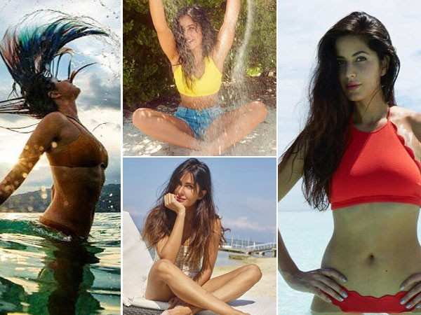 20 sizzling holiday pictures of birthday star Katrina Kaif